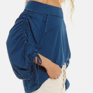 Free People OB614764 Bohema Off-The-Shoulder Cinch